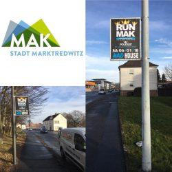 Mastrahmen-System in der Stadt Marktredwitz